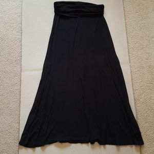 Mossimo fold over waist maxi skirt